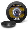 Type 28 Depressed Center Grinding Wheels. Best - Flexon -- A5254