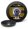 Type 28 Depressed Center Grinding Wheels.  Best - Flexon -- A5254 - Image