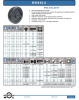 Polyolefin Wheel -- W-6-HDP-6600-PB