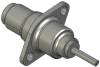 Honeywell Harsh Application Aerospace Proximity Sensor, HAPS Series, Inline cylindrical flanged form factor, 2,50 mm/3,50 range, 3-wire open collector output normally open, 213,36 cm [84.0 in] pigtail -- 1PCFD3CHGN-000 -- View Larger Image