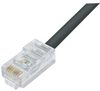 Category 6 Outdoor Patch Cable, RJ45/RJ45, Black, 50.0 ft -- TRD695OD-50 -Image