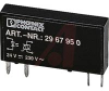 Optocoupler; Industrial; Rectangular; TRIAC; Pluggable -- 70208169