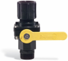 Ball Valve for PIG Burpless Poly Drum Funnel -- DRM946 - Image