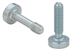 Captive Panel Screw-Tool only, Spinning Clinch Bolt, No Spring - Metric -- SCBJ-M3-14-ZI -- View Larger Image