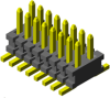 Micro Pitch Board-to-Board Systems Connectors -- FTE Series - Image