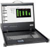 1U Rack-Mount Console with 19-in. LCD -- B021-000-17 -- View Larger Image