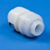 "1"" PVDF Valve with Threaded Ends -- 17279"