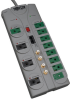 Eco-Surge 12-Outlet Home/Business Theater Surge Protector, 10-ft. Cord, 3600 Joules - Accommodates 8 Transformers -- TLP1210SATG