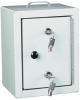 Standard Narcotics Cabinet Small Single Door Double Loc.. -- 2710 - Image