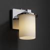 FSN-8771-10-OPAL-CROM Sconces-Single Glass -- 671817