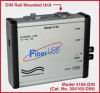 High Speed Fiber/USB Converters -- Model 4165-DIN