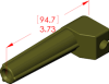 Angle Boot Insulator -- 18085 -- View Larger Image