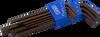 9 Pieces Metric Long Arm S2 Hex Key Set -- 68709 - Image