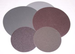 Silicon carbide abrasive discs