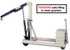 BEECH COUNTERWEIGHTED CRANE -- HB-2000CW w/Power Lift