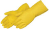 Liberty Glove Yellow Latex Gloves -- sf-19-130-0870C