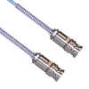 3-SLOT SOLDER/CLAMP PLUG TO PLUG WITH BEND RELIEF, 84 INCH CABLE LENGTH, M17 -- MP-2165-84 -Image