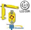 Leviton 20 Amp Wetguard Flush Mount Locking Receptacle.. -- 67W82