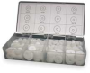 Washer Asst,PTFE,240 Pcs,8 Szs -- 3CWA2