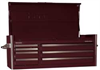 Top Chest,53 x 24 x 20-1/2 In,Burgundy -- 33M653