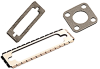 Standard Cont nector and Waveguard Cont ductive Elastomer Gaskets 2200 Series