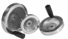 Aluminum Disc Hand Wheels with a Fixed Handle -- 06275-2080X10 - Image