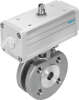 Ball valve actuator unit -- VZBC-40-FF-40-22-F0507-V4V4T-PP60-R-90-C -Image