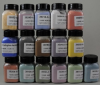 Set: Assortment of Colored Glass Pigments -- 14284