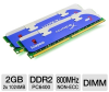 Kingston HyperX Genesis 2GB PC6400 DDR2 800MHz Dual Channel -- KHX6400D2LLK2/2GN