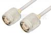 TNC Male to TNC Male Cable 18 Inch Length Using PE-SR402AL Coax -- PE34279LF-18 -Image