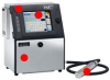 PXR-H (High Speed Model) Continuous Inkjet Printer -- PXR-H Model
