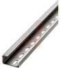 G-profile DIN rail, Steel, perforated, height 15 mm, width 32 mm, each pc 2 MTR -- 70169747