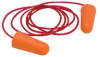 PIP 265-EPLUG Orange Universal Polyurethane Foam Disposable Corded Cone Ear Plugs - Individually Wrapped Ear Plug - 616314-85635 -- 616314-85635
