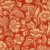 Allover Floral Striae Damask Fabric -- R-Abigail - Image