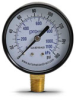 0-160 psi / 0-1100 kPa Pressure Gauge with 2.5 inch mechanical dial -- G25-BD160-4LB - Image
