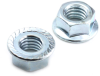 #10-24 Flange Nut, Serrated -- NG2FLS01024T - Image