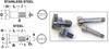 Slotted Head Shoulder Screws (metric) -- MD0923MCO03X004 -Image