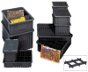 Conductive Dividable Grid Containers -- HDG92035CO -- View Larger Image