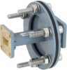 WR-62 Waveguide Bulkhead Adapter Using UG-1665/U Square Cover Flange and Operating from 12.4 GHz to 18 GHz -- FMWAD5012 -Image
