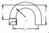 Brazetyte® 180° Return Bend -- 180MF-4 - Image