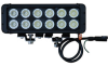 120 Watt High Intensity LED Light Bar - 12, 10-Watt LEDs - 10320 Lumen - Extreme Environment