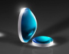 Aspheric Lens 68mm Diameter x 55mm FL -- NT84-881