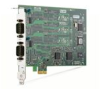 NI PCIE-8430/2, 2 Port, RS232 Serial Interface -- 782122-01