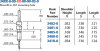 Double Tail Header Pin -- 3400-0-00-01-00-00-03-0 - Image