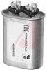 Capacitor, Motor Run;15uF;Flat Oval;370VAC;+/-10% -- 70186112