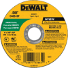"4"" x .045"" x 5/8"" metal and stainless cutting wheel -- DW8071"