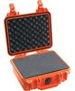 Pelican 1200 Case with Foam - Orange | SPECIAL PRICE IN CART -- PEL-1200-000-150 -Image