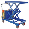 BATTERY OPERATED DOUBLE SCISSOR CART -- HCART-DS-1000