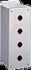 Extra-Deep 22.5-mm Pushbutton Enclosures, Type 4X -- E2PBGXSS