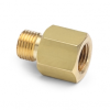 "G 1/8"" female BSPP (ISO 228/1) x male Quick-test, no check-valve, brass -- QTHA-1FB0-RG -- View Larger Image"